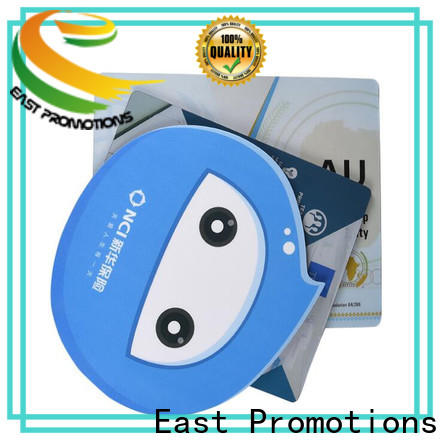 East Promotions personalized mouse pads from China for mouse