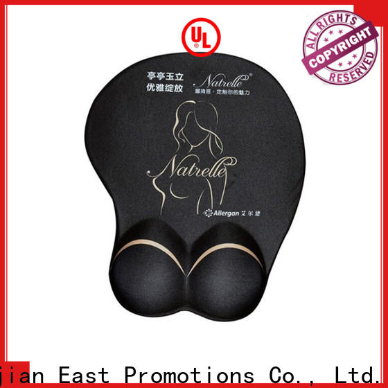 East Promotions hot selling game mouse mat manufacturer for mouse