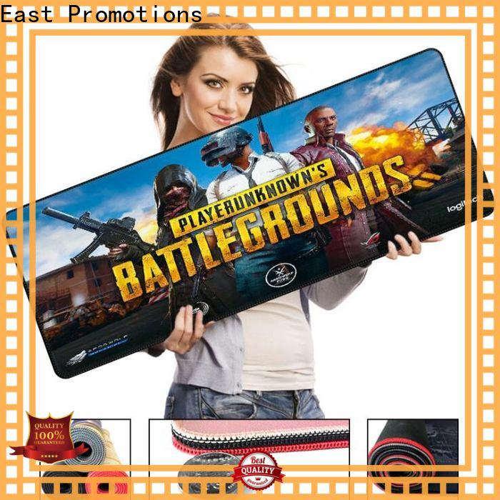 East Promotions new pu leather mouse pad suppliers for mouse