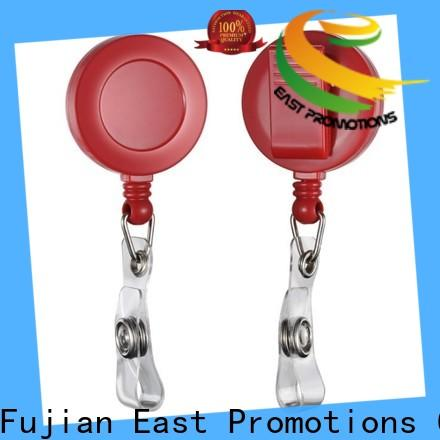 East Promotions reel badge holders suppliers bulk production