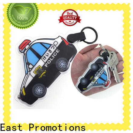 quality flashlight keychain with logo factory direct supply for gift