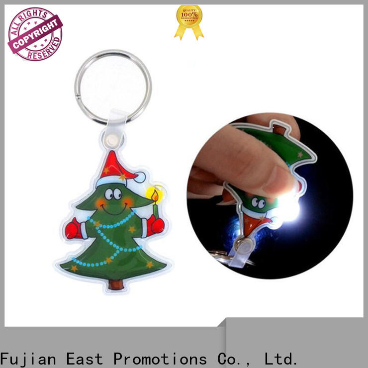 East Promotions latest promotional flashlight keychains factory for key