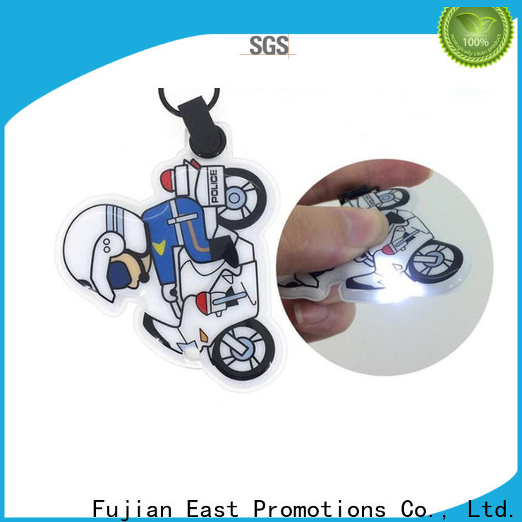 East Promotions light up keychain with good price bulk buy