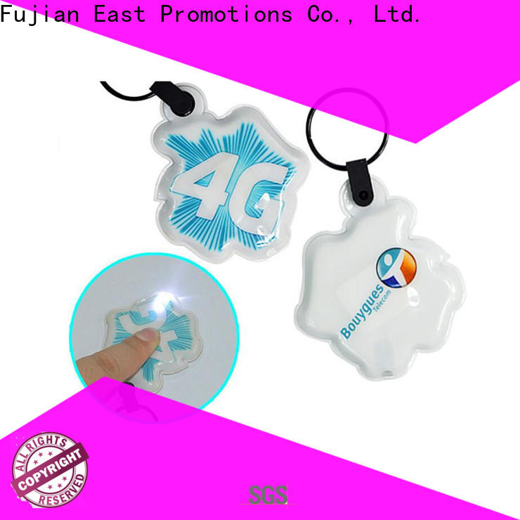 East Promotions high-quality mini flashlight keychain company bulk production