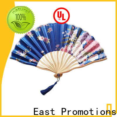 East Promotions low-cost blank hand fans from China for decoration