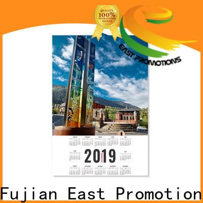 East Promotions hot-sale desk calendar 2020 supply for gift