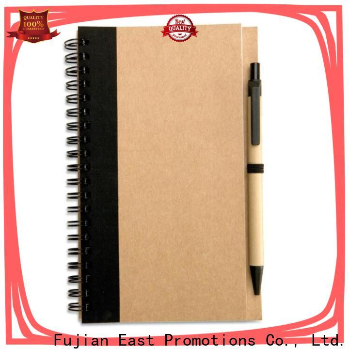 East Promotions hot selling journal notebook with good price bulk production