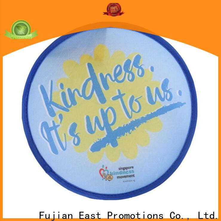 East Promotions top selling foldable frisbee fan supply for sale