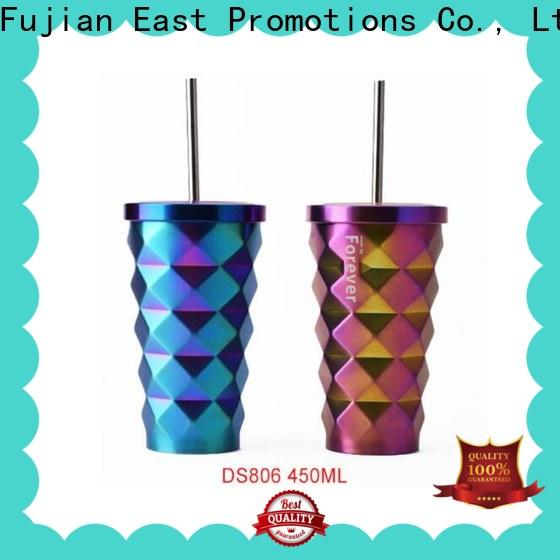 East Promotions metal coffee travel mug factory for student