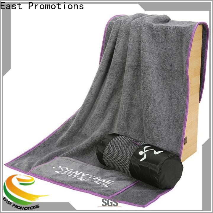 East Promotions custom sports towels with good price for trip