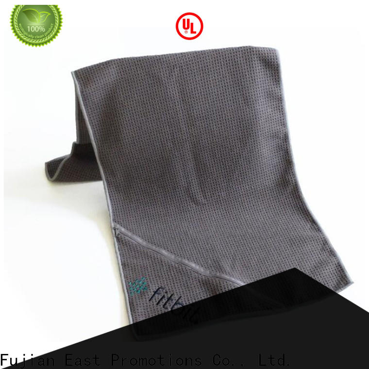 cost-effective custom printed towels wholesale for gym