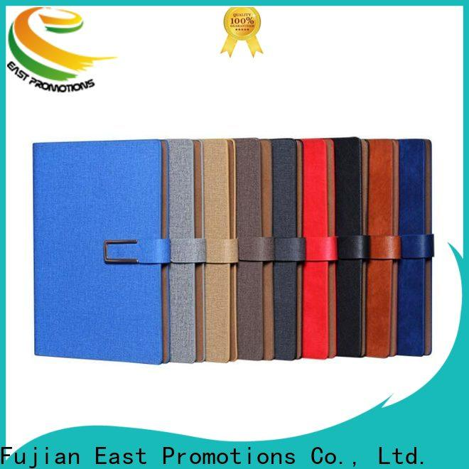 East Promotions factory price hard cover notebook best manufacturer for work