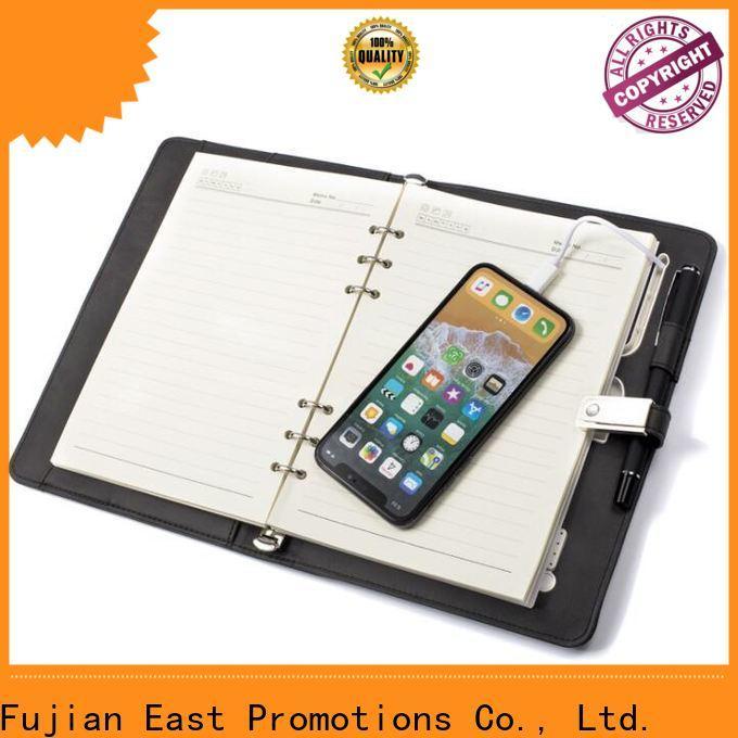 East Promotions journal notebook best manufacturer for work