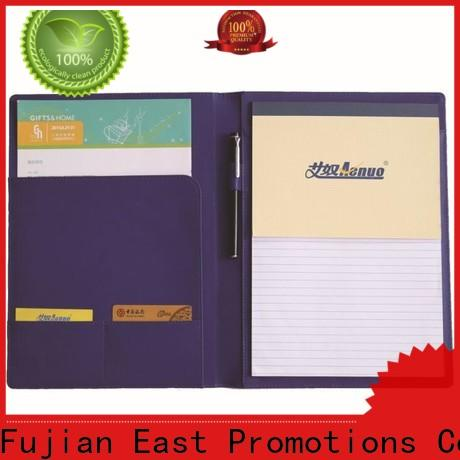 East Promotions custom notebooks company for work