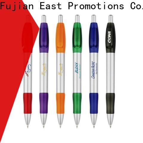 East Promotions top selling plastic pen company bulk production