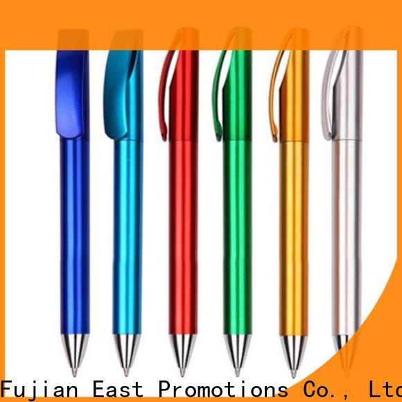 East Promotions promotional personalised plastic pens series for children