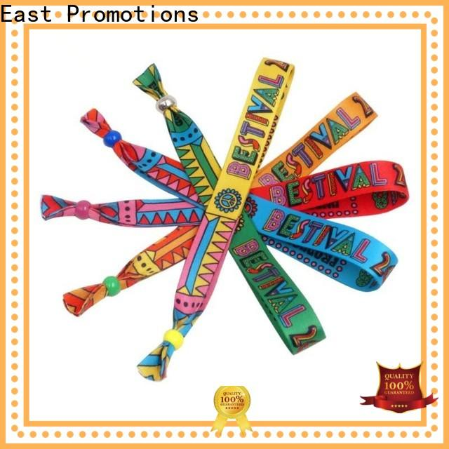 top woven wristband wholesale for concert