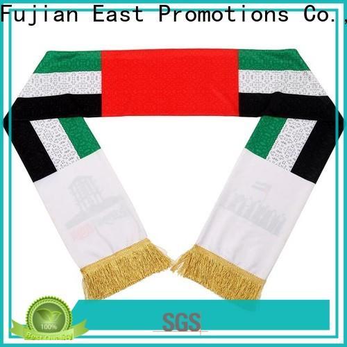 latest sports scarf factory bulk production