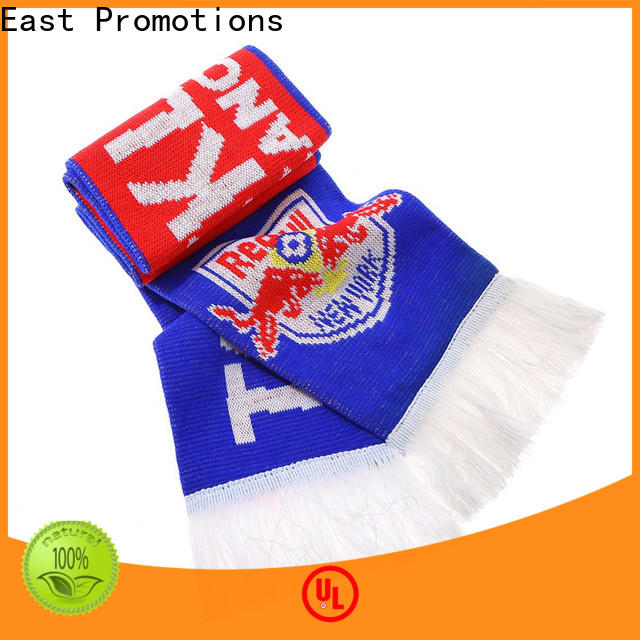 professional soccer scarf design suppliers bulk production