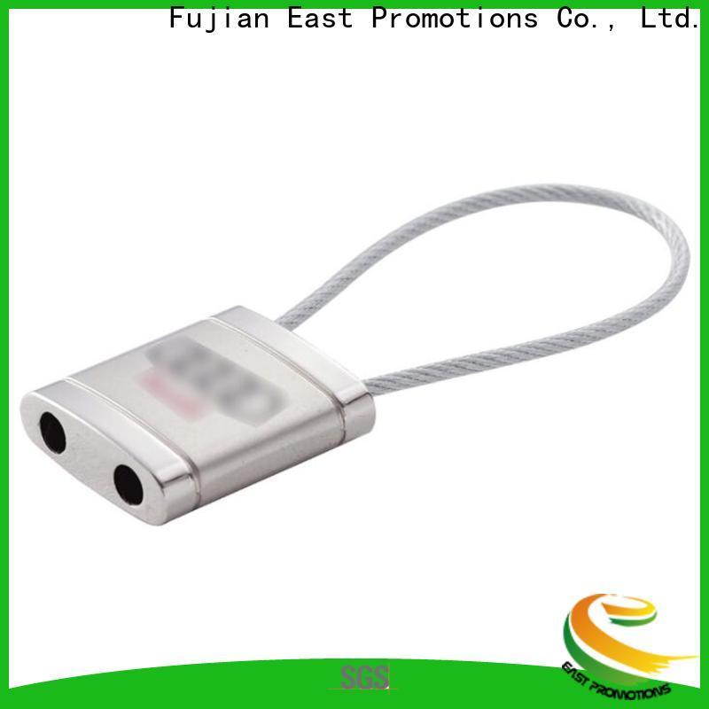 East Promotions promotional metal keyrings manufacturer bulk production