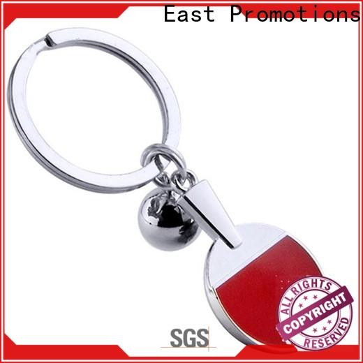 East Promotions personalised metal keyrings supplier for gift
