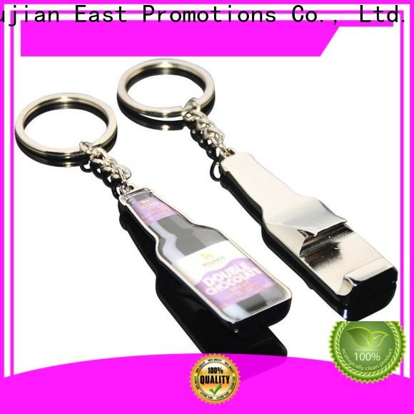East Promotions high-quality custom shape metal keychains suppliers bulk production