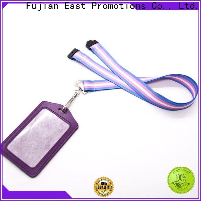 East Promotions badge reels company bulk production