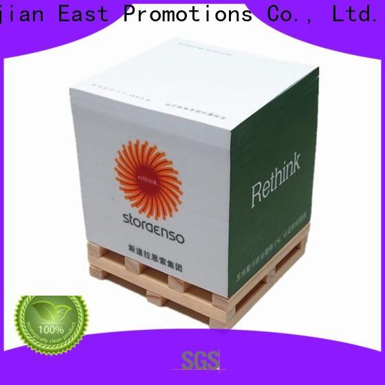 East Promotions sticky memo notes manufacturer bulk production