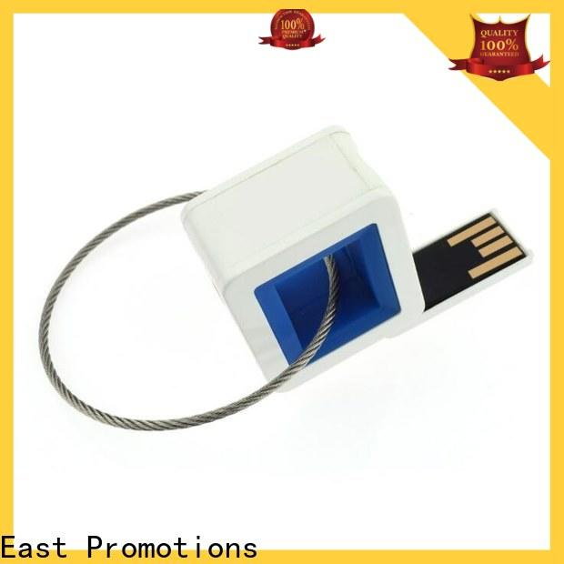 East Promotions leather usb flash drive supply for file storage