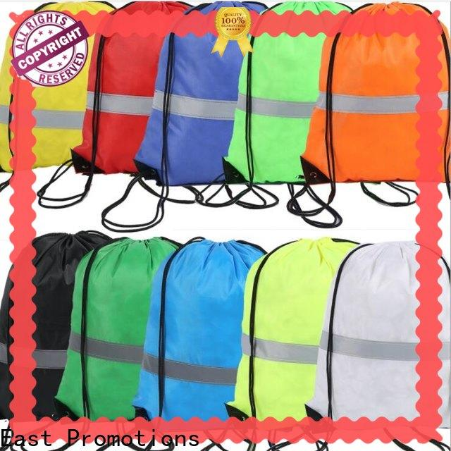 East Promotions non woven drawstring bag company for packing