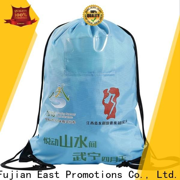 East Promotions professional cool drawstring backpacks suppliers bulk production
