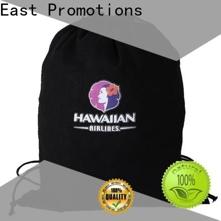 East Promotions quality drawstring backpack with logo wholesale for packing