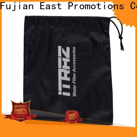 East Promotions popular easy drawstring bag suppliers for traveling