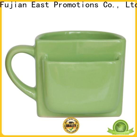 East Promotions cookie mugs manufacturer for juice