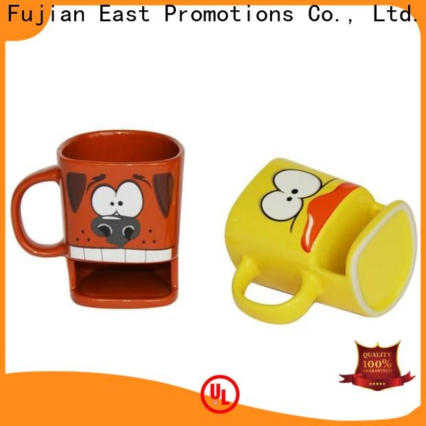 East Promotions best 3d ceramic mugs factory for water