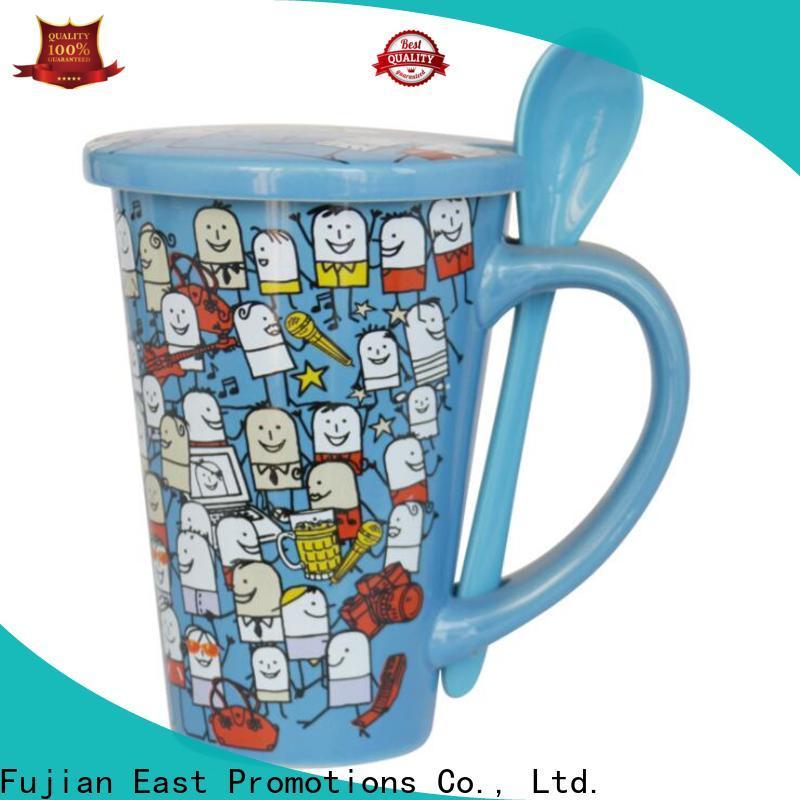 East Promotions office mug supplier bulk production
