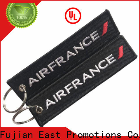 East Promotions new embroidered keychain factory bulk buy