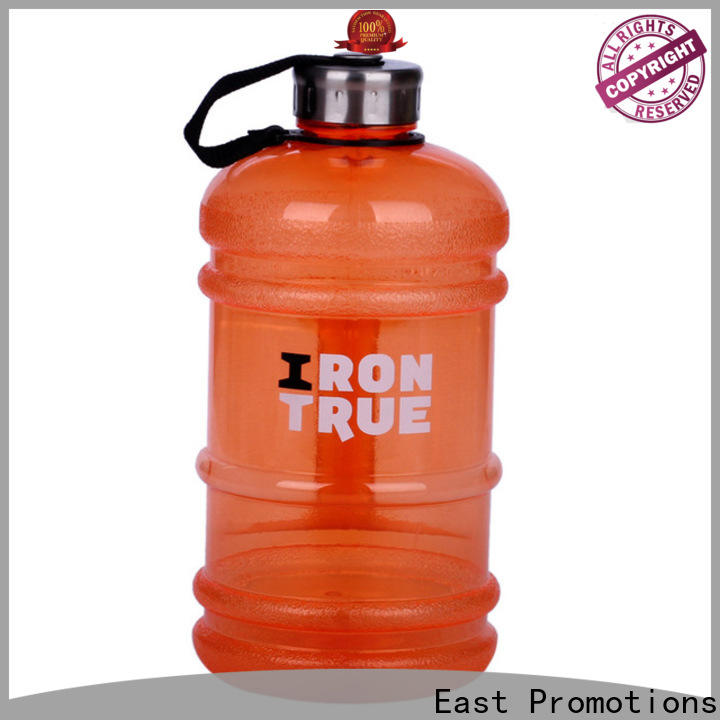 East Promotions water bottle with clip lid from China for holding milk