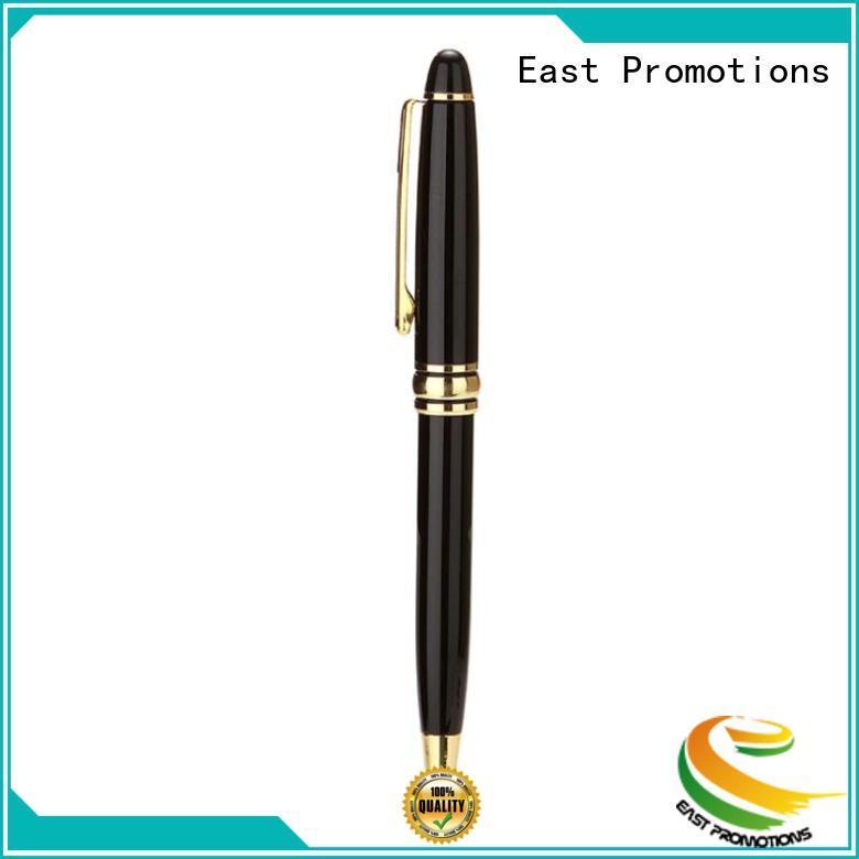 light custom metal pens bulk production for student East Promotions