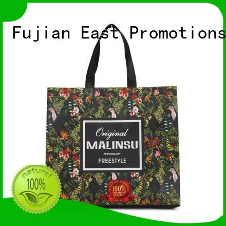 customized cheap non woven bags laminated for supermarket East Promotions