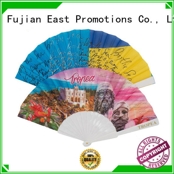 East Promotions elegant mini hand held fan factory price for gift