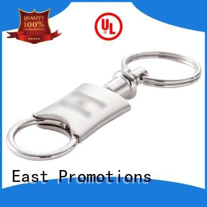 promotional custom metal keyrings factory bulk production