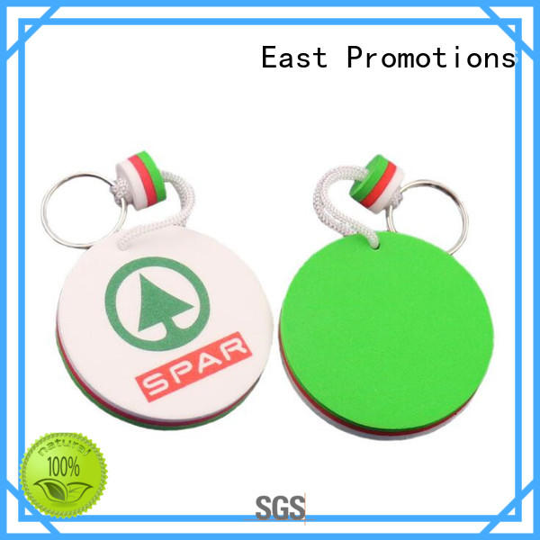 Souvenir Gift EVA Key Chain Logo Key Tag for Promotional