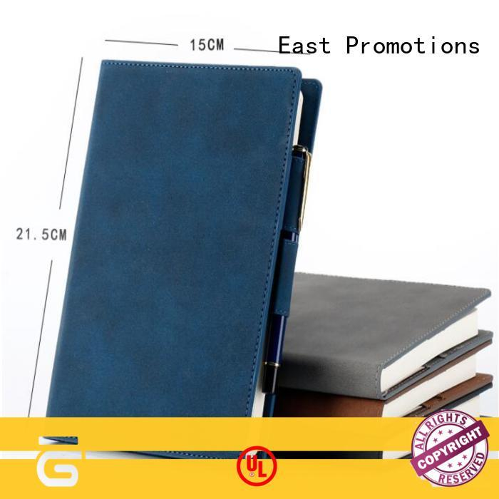 East Promotions creative business notebook in different color for gift