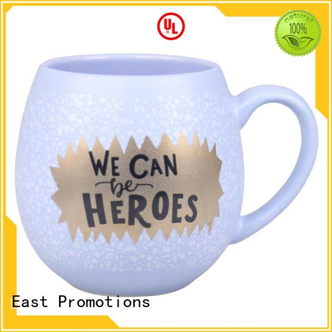 East Promotions promotional mugs factory for juice