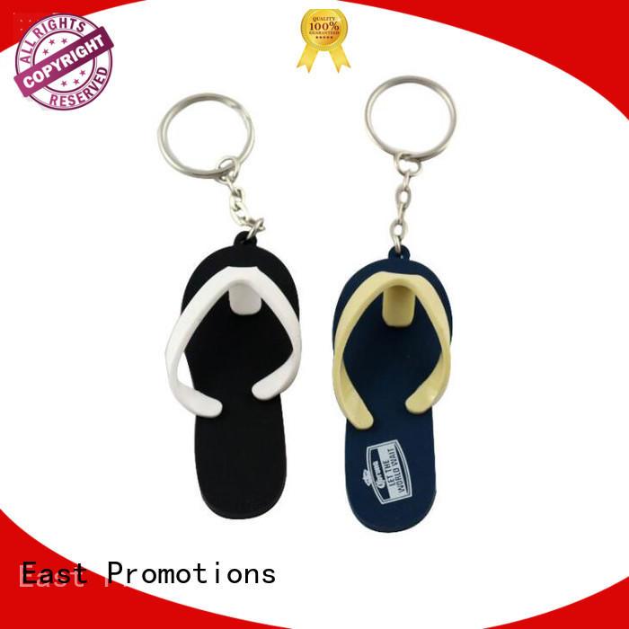 Wholesale Custom Slipper Soft PVC Rubber Keychain
