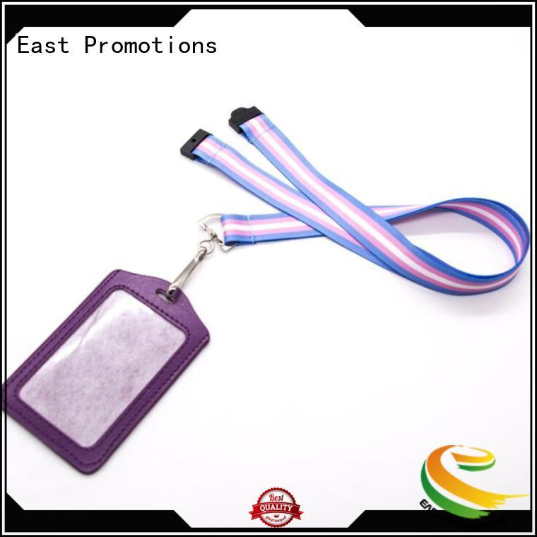 screen polyester lanyard fashion for card East Promotions