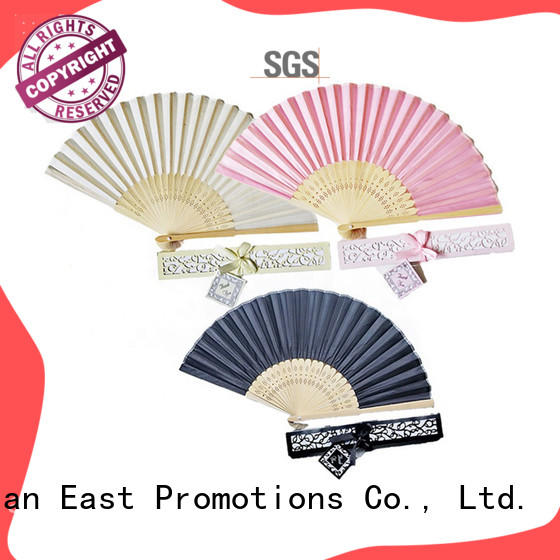 colorful custom hand fans double marketing for decoration