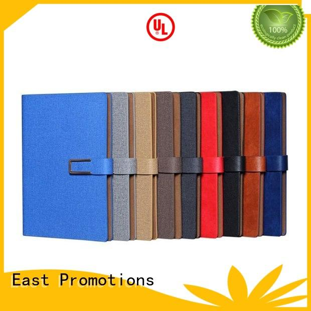 East Promotions creative business notebook drinking for school