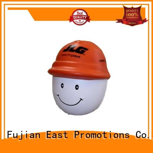 East Promotions keychain anti stress ball factory for shopping mall
